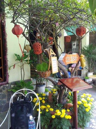 Hoang Trinh Hotel: garden