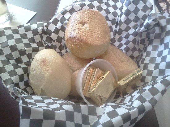 Complimentary rolls and butter picture of gregg s restaurant