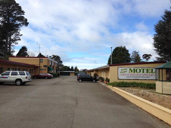 Echo Point Discovery Motel: When you drive in