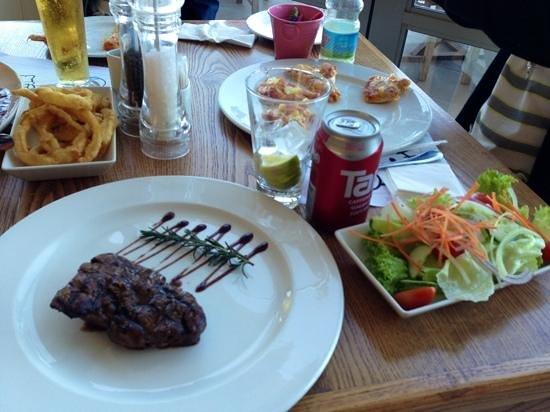Butcher Block : steak