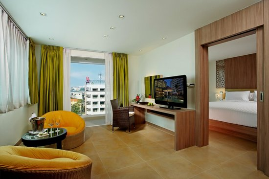 Fresh Hotels with Living Room and Bedroom