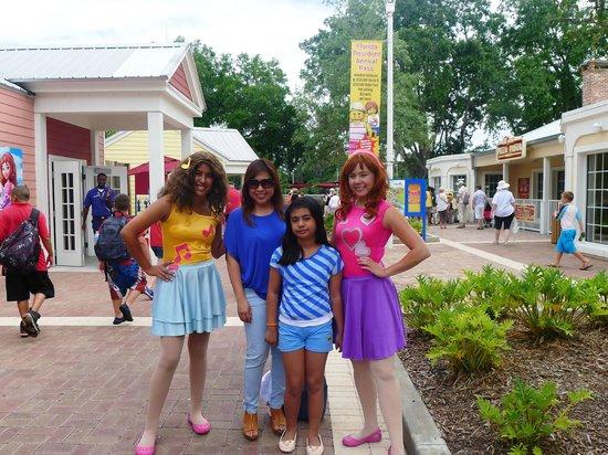 LEGOLAND Florida Resort: the divas