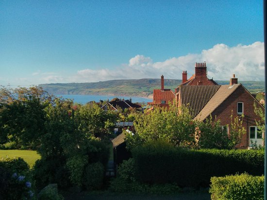 Thackwood B&B: A lovely view to wake up to from the Terracotta room