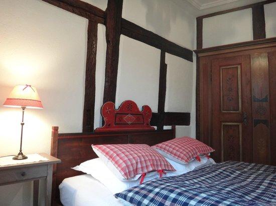 Chambres d'hotes Butterlin: Suite alsacienne - chambre des amoureux