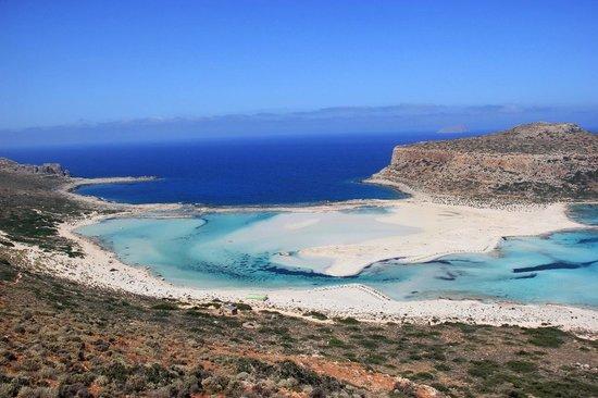 Balos Beach and Lagoon: Le lagon