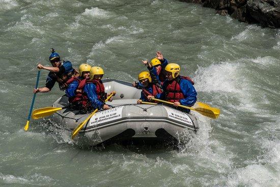La Salle, Italia: Rafting VDA