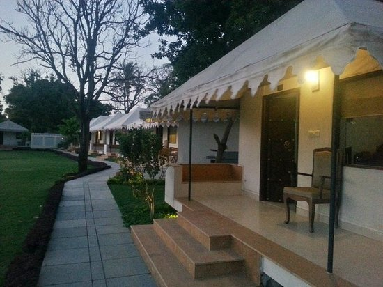 Shree Vilas Orchid: The luxury tents
