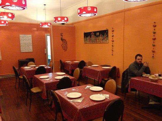 Anki's Indian Restaurant: The restaurant when you walk in