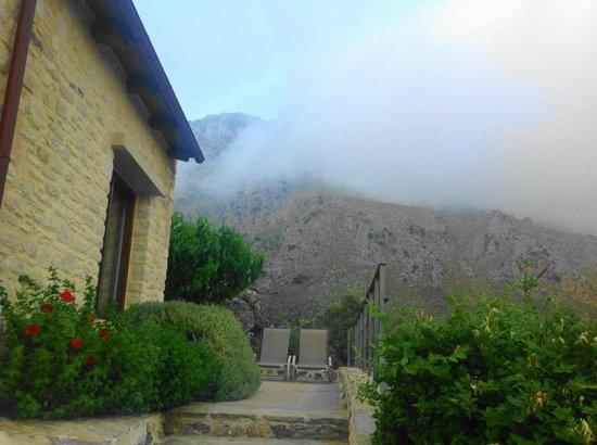 Eleonas : Вид на горы из номера