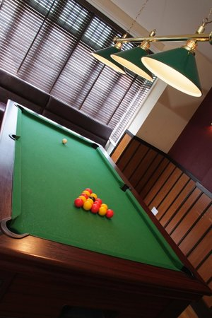 The White Horse: Games Room