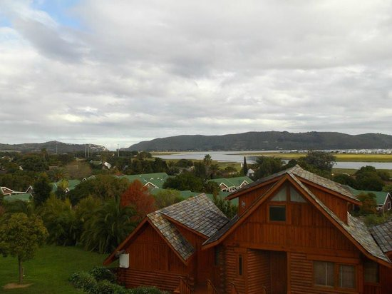 Abalone Lodges: View from our balcony