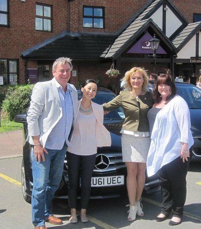 Premier Inn Preston East Hotel: with Business Colleagues