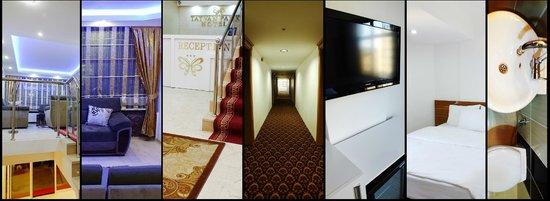 Tatvan Park Hotel: Lobby, Koridorr, Rooms, Bathroom