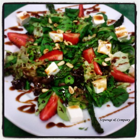 Restauracja Biosfeera: Szparagi&Company