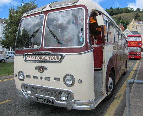 Pier Hotel Rhyl : Tour Bus from Llandudno
