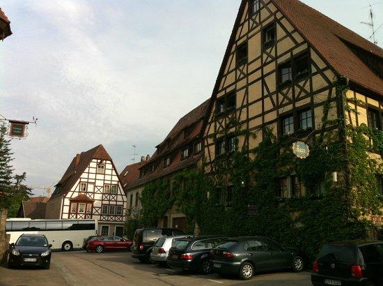 Prinzhotel Rothenburg : Front of hotel