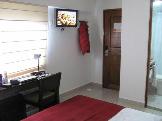 Hotel Florencia Plaza: Habitación