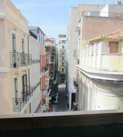 Hermes Hotel: Room 207: street view from window