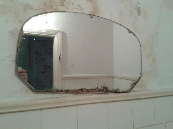 Zhulyany : зеркало в ванной