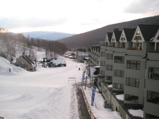 Mountain Club On Loon: View from the balcony