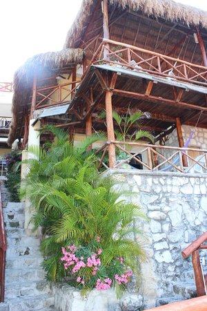 Hotel La Joya: корпус отеля