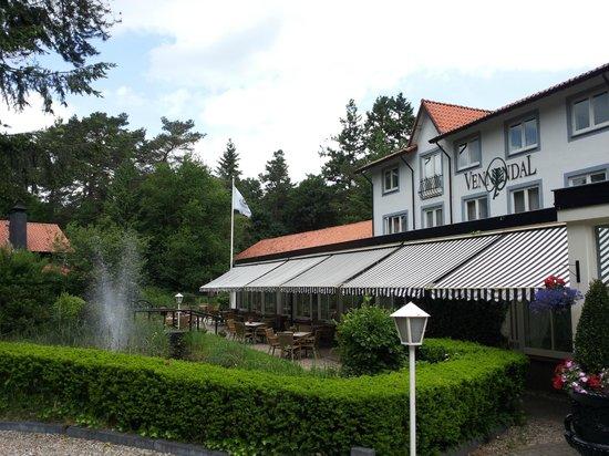 Landgoedhotel Villa Vennendal: Uitzicht over de vijver
