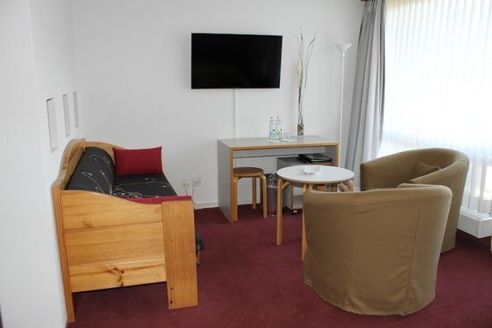 Hotel Kreuz: Doppelzimmer mit Sitzecke