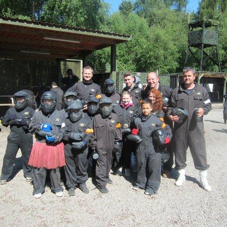Delta Force Paintball Maidenhead: Paintballing Reading