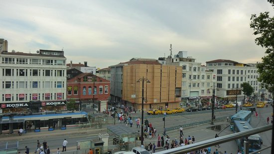 Seos Cafe & Restaurant: View from the terrace.