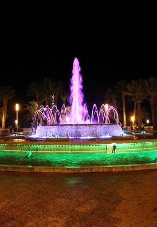 Illuminated Fountain: 7