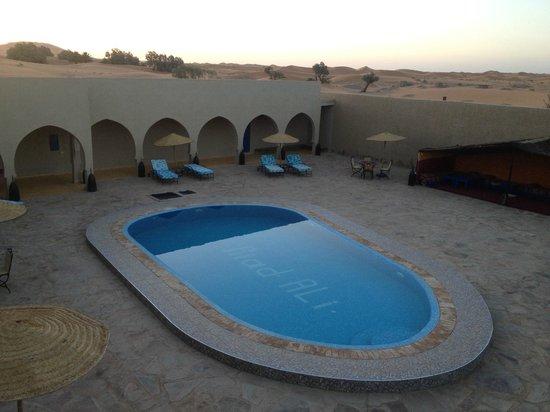Hotel Riad Ali: Vistas desde mi habitación. Una noche dormí en la terraza con las estrellas