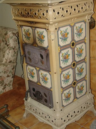 Old Sofala Gaol : the old heater