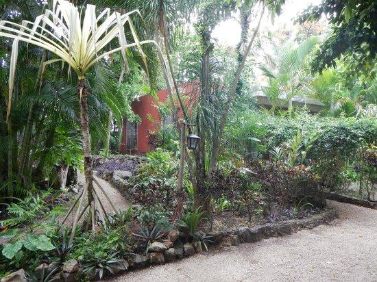 Hotel Macanche Bed & Breakfast: Nice gardens