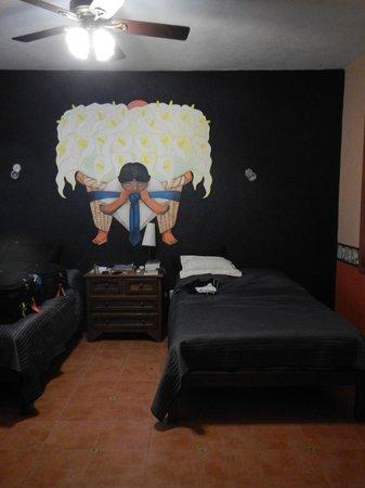 Hotel Macanche Bed & Breakfast: Diego room