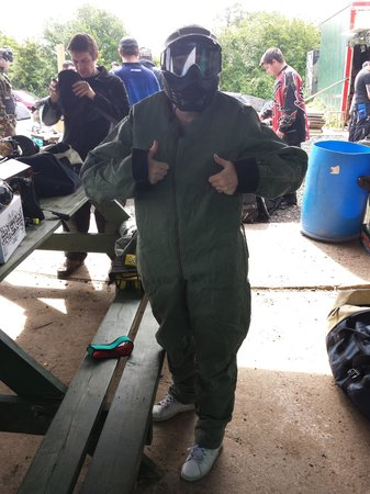 Outpost Paintball: All geared up