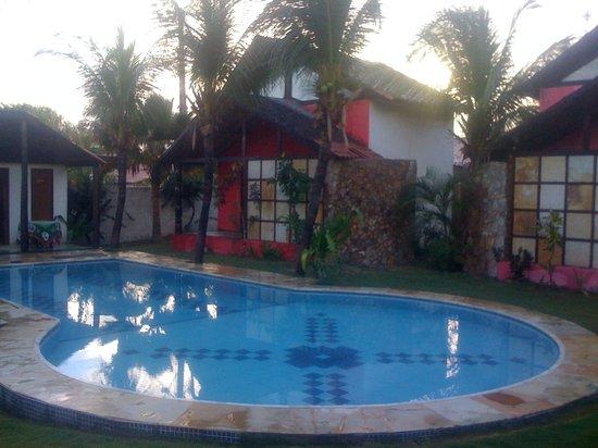 Refugio do Manati: ficamos no chalé vermelho...