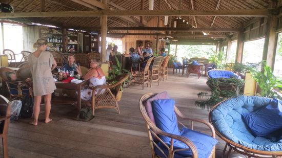 Lazy Beach : The bar and restaurant
