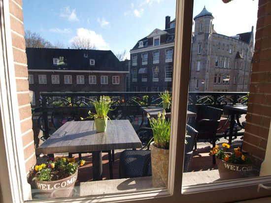 Balcony Terras Picture Of Clemens Hotel Amsterdam