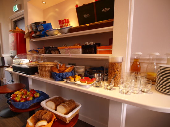 Breakfast Buffet Picture Of Clemens Hotel Amsterdam