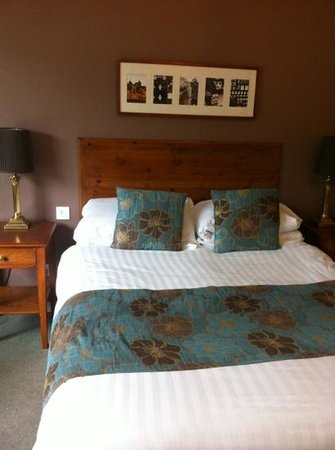 Wild Boar Hotel: our room