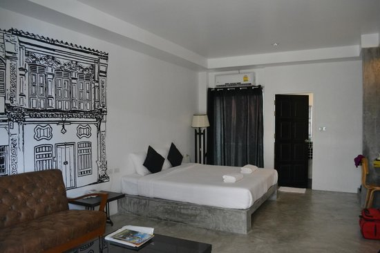 Chicboutique Hotel: Black and White Room