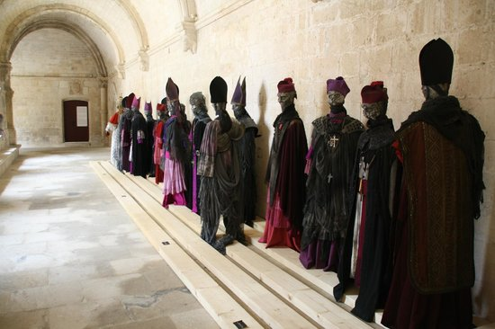 Abbey of Montmajour: temporary expo
