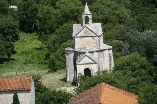 Abbey of Montmajour: the chapel