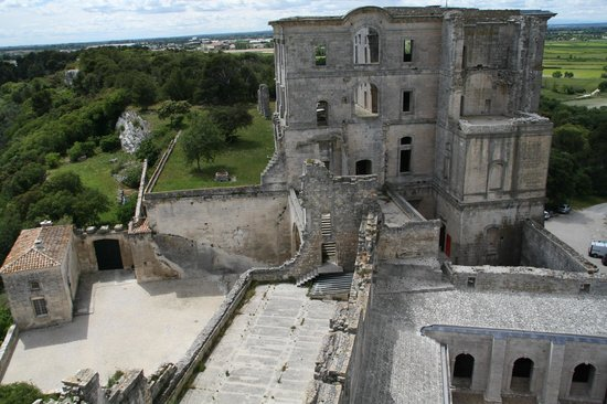 Abbaye de Montmajour : view from the tower