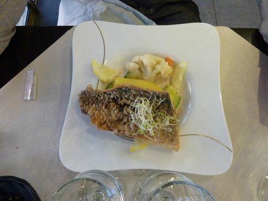 Restaurant Le Homard Bleu: poisson