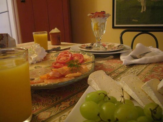 Rosa's Bed and Breakfast : Breakfast