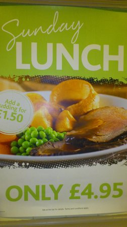 The Old Crown: Our Great Value Sunday Lunches.