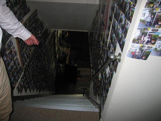 Ryokan Sansui Hiroshima : THe Stairs