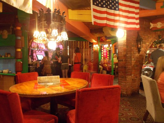 time machine restaurant