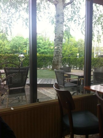 Campanile Amsterdam: view from dining hall